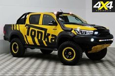 Toyota Hilux, Jeep, Monster Trucks, Vehicles, Concept, Diy Projects, Image, Cars, Truck Accessories