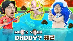 BABY IN DANGER ☠ Who's Your Daddy Skit + Gameplay w/ Shawn vs Knife, Fire, Glass & More (FGTEEV Fun) - YouTube