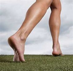 walk barefoot on the earth