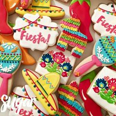 Mexico fiesta cookies