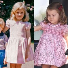 """849 Likes, 16 Comments - Remember Princess Diana (@rememberprincessdiana) on Instagram: """"Pink smocked dresses = timeless. At left: a new family photo of Diana, just released by Charles…"""""""