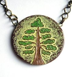 The Test of Time Necklace --- a love trees almost as much as I love poppies ;-) inspiration-block-party-press