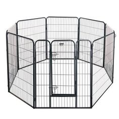 "Pet Trex 32"" Heavy Duty Dog Exercise Pen Size: 40"" H x 256"" D"