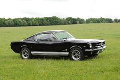 I've always liked the first generation Mustang fastbacks.