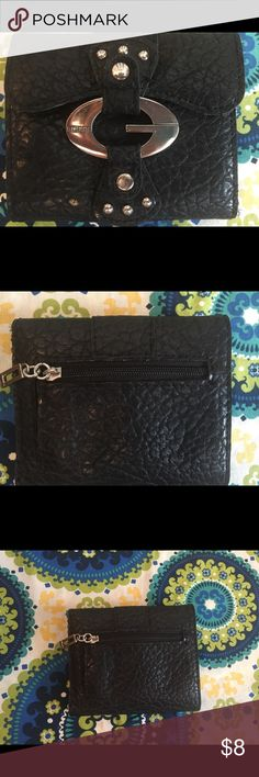 Guess leather wallet small Small Guess faux leather wallet Guess Accessories