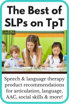Best of SLPs on TpT