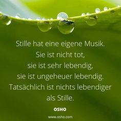 ...Stille hat eine eigene Musik... Mindfulness Meditation, Timeline Photos, Writing Tips, Death, Yoga, Motivation, Words, Bingo, Type 3