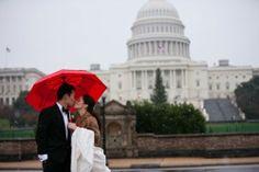 Winter Washington DC Wedding