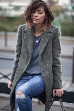 justthedesign:  A fluffy coat is the perfect choice this winter...