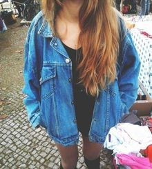 Fashion - Inspiration - Streetstyle - Celebs - Bloggers - Trending - Outfit - Ootd - Get the Look - Today - Spot & Shop - Musthave - 2014 - Oversized - Jacket - Jack - Denim - Jeans - Oldschool - Retro - '90s