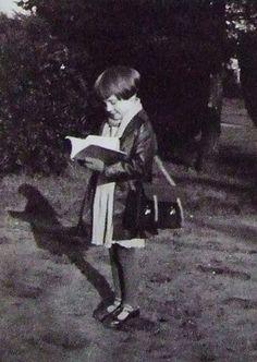 Rare photo of Audrey Hepburn in childhood