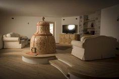 Stufe Collizzolli in ceramica stufe a olle stufa modello Campana fatta a mano Wood Burner Stove, Lighting, Home Decor, Decoration Home, Room Decor, Lights, Home Interior Design, Lightning, Home Decoration