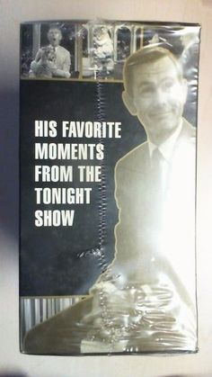 THE JOHNNY CARSON Collection + Animal Hijinks VHS 5 Tapes w/Final Show New! B2D3