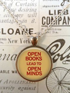 ❤ Bookish Necklace ❤