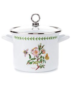 """Portmeirion """"Botanic Garden"""" 2.5qt Stock Pot - would LOVE to have this!"""