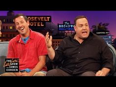 Kevin James & Adam Sandler: Loving, but Uncool Dads Kevin James, The Late Late Show, Youth Soccer, Adam Sandler, Trending Topics, Karaoke, Dads, Youtube, Join