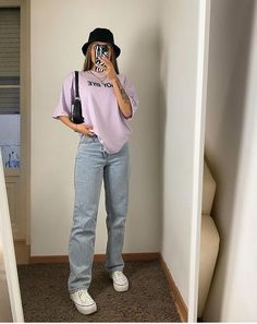 Indie Outfits, Edgy Outfits, Teen Fashion Outfits, Retro Outfits, Cute Casual Outfits, Simple Outfits, Skater Girl Outfits, Teen Girl Outfits, Vintage Outfits