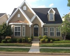 stone lion sherwin williams paint on houses