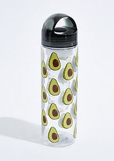 Avocado Toast Sliced Sports Drinks Bottle Camping Flask Funny Joke