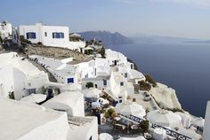 Santorini, Greece  (One of the many places I want to go to one day)