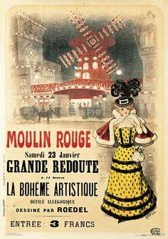 Moulin Rouge (grande redoute) - Auguste Roedel