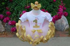 Girls first birthday outfits Pink and gold birthday outfit birthday tutu baby girls second third fourth birthday dress Gold First Birthday Outfit, Fourth Birthday, Gold Birthday, Birthday Tutu, Girl First Birthday, Birthday Dresses, Pink Crown, Stretchy Headbands, Crown Headband