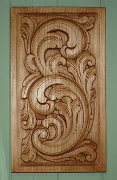 Wood Carving Ideas For a Rustic Home Decor - Cornelius Adeniyi Wood Carving Designs, Wood Carving Patterns, Wood Carving Art, Wood Art, Wooden Door Design, Wooden Doors, Best Wood For Carving, Chip Carving, Acanthus