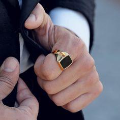 Mens Gemstone Rings, Mens Gold Rings, Mens Signet Rings, Mens Gold Jewelry, Men Rings, Men's Jewelry Rings, Baby Jewelry, Jewlery, Fine Jewelry