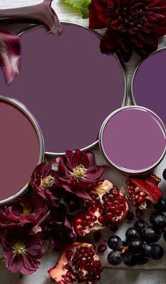Paint Color Palettes, Fall Color Palette, Colour Pallette, Bedroom Color Schemes, Colour Schemes, Paint Colors For Home, House Colors, Pallet Painting, Painted Pots