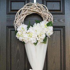 Items similar to Wedding door Decor,Rustic Wreath, wreath Door Decorations Rustic ivory Wedding Wreath. on Etsy Door Wreaths, Grapevine Wreath, Diwali Craft, Bridal Decorations, Wedding Wreaths, My Etsy Shop, Bridal Showers, Handmade Gifts, Life Hacks