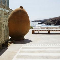 Summer house of Italian designer and architect Paola Navone on the Greek Island Serifos