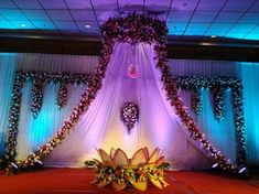 Amazing cradle ceremony decoration ideas for all your events. 1000 images for cradle decoration for naming ceremony from Quotemykaam catalogue. Book Now. Wedding Hall Decorations, Wedding Stage Design, Wedding Reception Backdrop, Backdrop Decorations, Flower Decorations, Backdrops, Wedding Mandap, Backdrop Ideas, Naming Ceremony Decoration