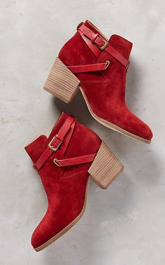 Belle by Sigerson Morrison Genia Booties #anthroregistry