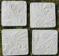 Making your own concrete stepping stones, can't wait to try this.