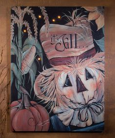 Another great find on #zulily! It Is Fall Lighted Canvas #zulilyfinds