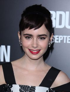 lily collins images - Google Search