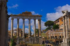 Rome is the eternal city. Image by Education Images / Colaborador / Getty Images.