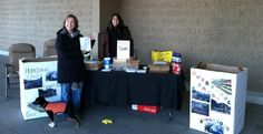 Collecting donations at Sam's Club in Henrietta, NY!
