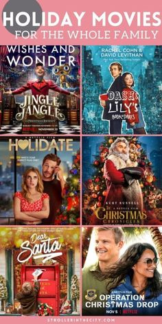 Must Watch Holiday Movies. One of my favorite holiday traditions for my family is to gather together and watch a satisfying Christmas movie filled with warm fuzzies. If your family also loves Christmas movies then you must check out this list of the best must watch Christmas movies of the season! Great for kids and for families all together. #Movies #ChristmasMovies #Christmas Hallmark Holiday Movies, Best Holiday Movies, Watch Christmas Movies, Hallmark Holidays, Favorite Holiday, New Family Movies, Family Movie Night, Holiday Themes, Holiday Fun