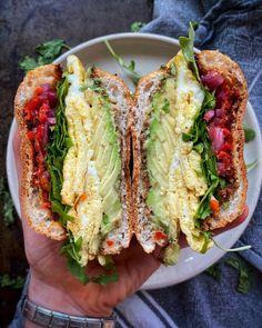 English Muffin Egg Sandwich recipe by Sarah Schutz Egg Sandwiches, Sandwich Recipes, Breakfast Sandwiches, Diner Recipes, Brunch Recipes, Fancy Recipes, Yogurt And Granola, Bagel Recipe, Egg Muffins