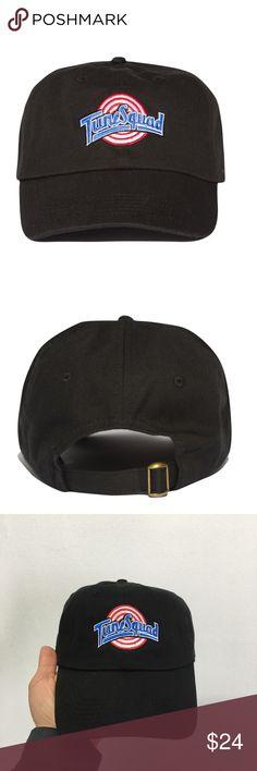 6384972bd53 TUNE SQUAD DAD HAT - black (unisex) Brand new item . Embroidered. Unisex .  Black sixpanelstudio.com Accessories Hats