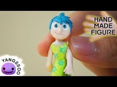 Joy (Inside Out) Polymer Clay Miniature Character Figure Tutorial - YouTube