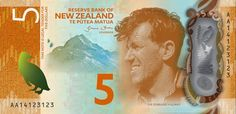 """A comprehensive article on the new Series Banknotes to be introduced in New Zealand from 2015 onwards.coins and more: 169) New Zealand new Banknote """"Seventh Series"""" (to..."""