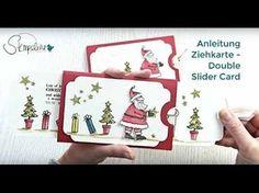 Stampin Up Ziehkarte / Double Slider Card - YouTube