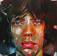 Dynamic And Dramatic ART~ Mick Jagger~ Artist: Pascal Vilcollet~ whudat.de