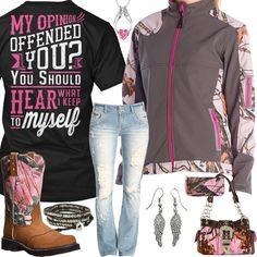 You Should Hear What I Keep To Myself Outfit - Real Country Ladies