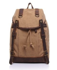 AUGUR Retro Style Travel Backpack for College Students 04fb5aad9dbd3