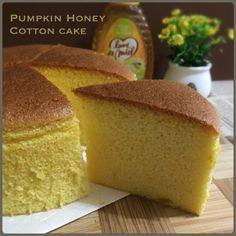 My Mind Patch: Pumpkin Honey Cotton Cake 南瓜蜂蜜棉花蛋糕