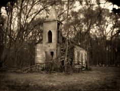 Abandoned Church, Louisiana, 2005. Jack Spencer Photography - Native Soil - 3