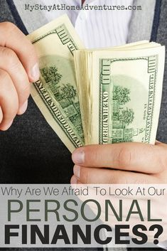 We are too afraid to look at our personal finances because we are afraid of that it will say about us. The truth might not be as bad after all.